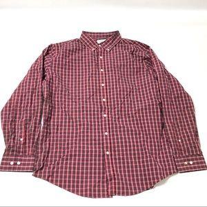 Croft & Barrow Men's Dress Shirt Size XL Easy Care